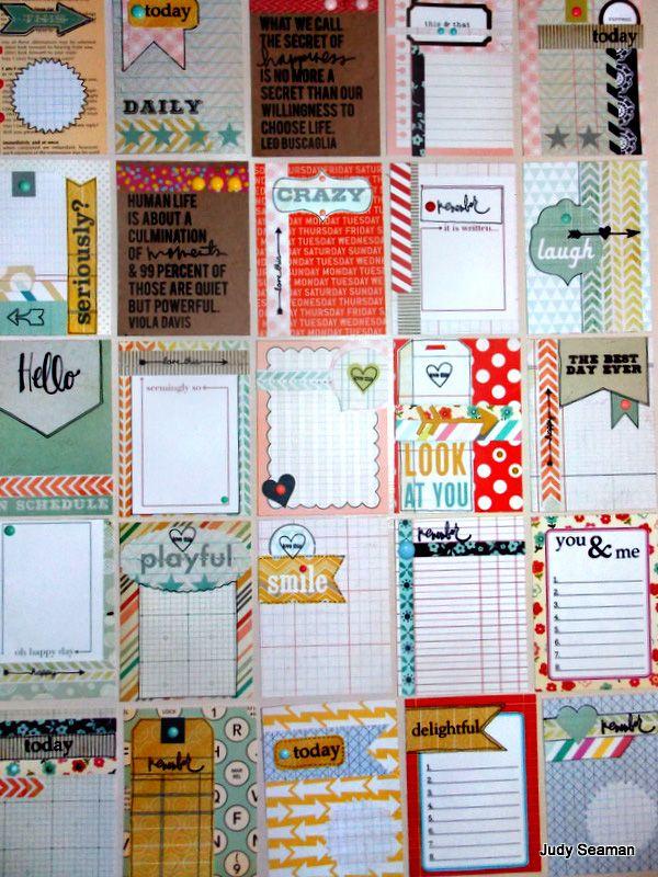 handmade cards by Judy Seaman. Love these!