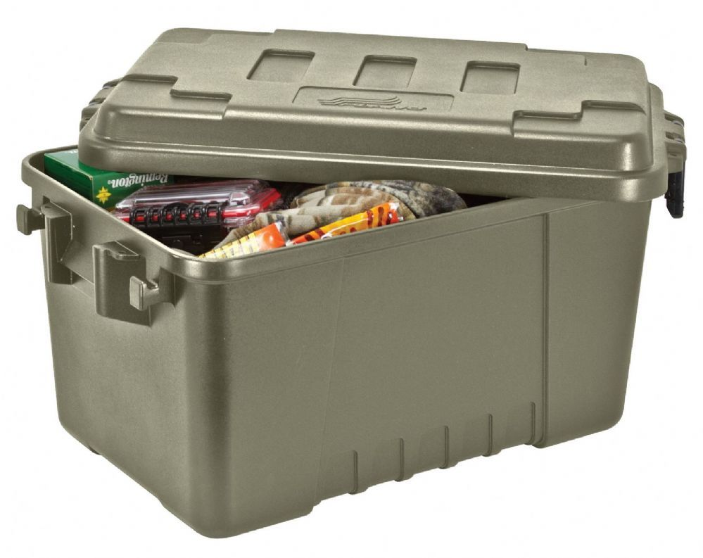 Plano Sportsman S Trunk Conveniently And Transport All Your Hunting Outdoor Gear In One Large Protective These High Impact Plastic