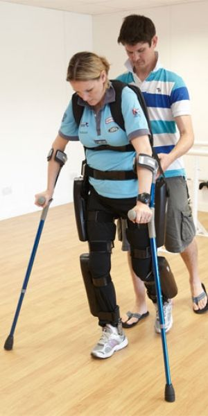 Rewalk S Rehab Exoskeleton Now Approved For Home Use Medical Technology Person Rehab