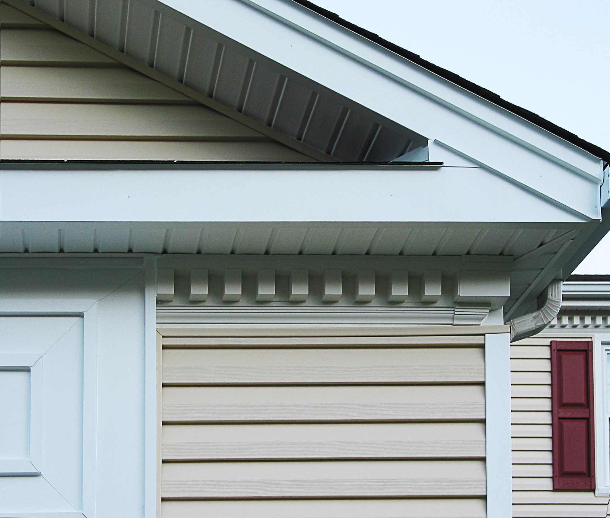 Siding Trim Capping Detail And Dentil Molding Project