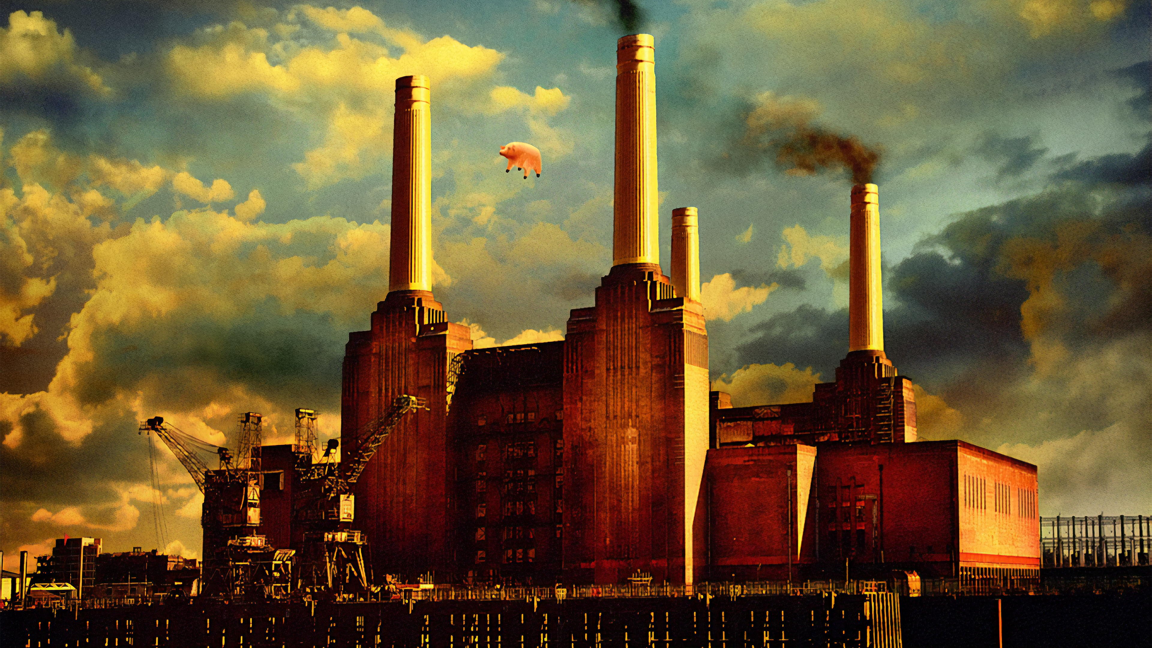 Pink Floyd Animals (Portside) [3840x2160] (With images