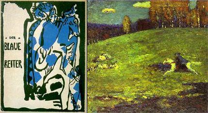 Image Wassily Kandinsky A525g Kandinsky Cavalier Bleu Franz Marc