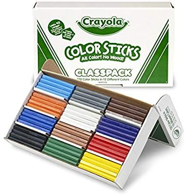 Amazon Com Crayola Woodless Colored Pencils Bulk 120 Count