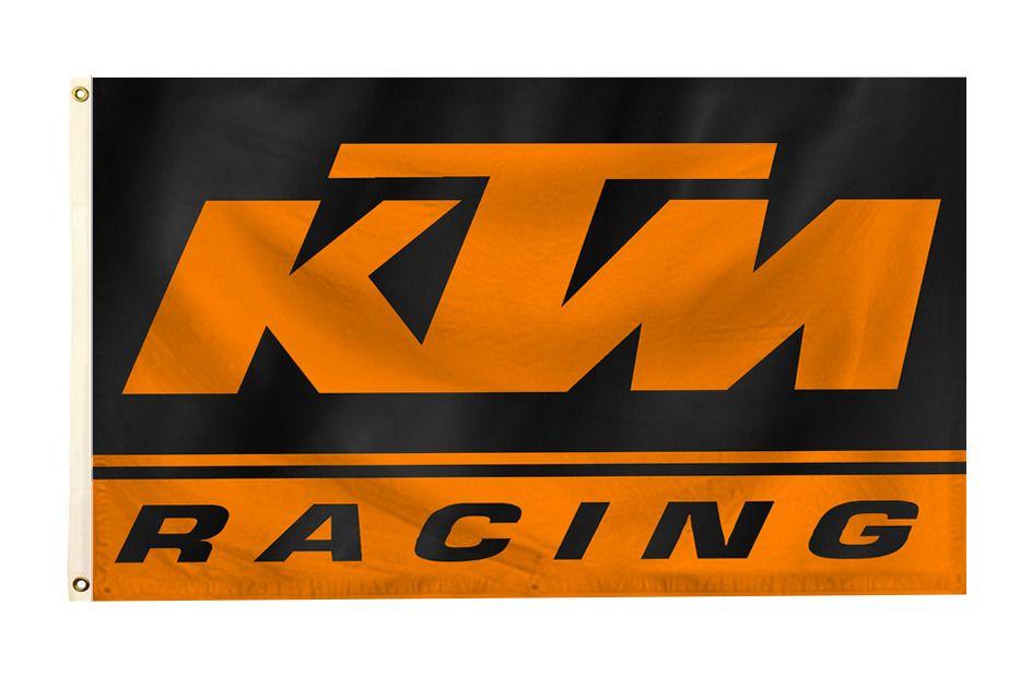 Ktm Racing Flag Banner 3x5ft Sportmotorcycle Wall Decor Flag Garage Workshop Garage Decor Flag Banners Ktm