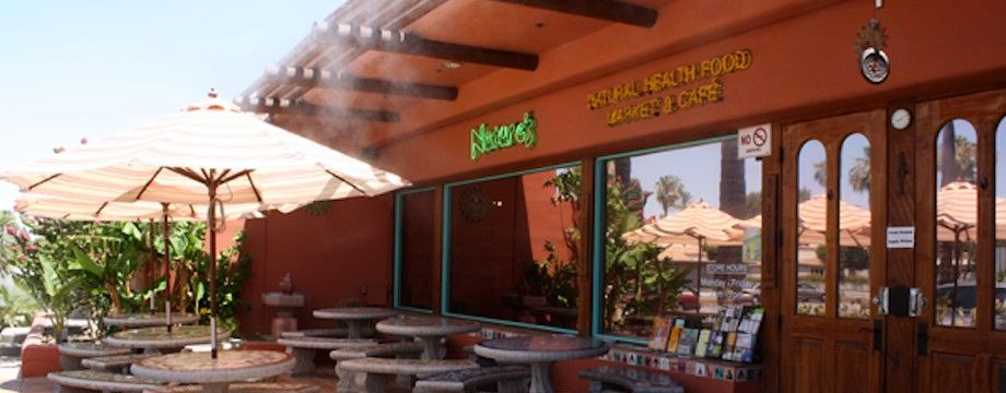 Welcome To Nature S Health Food Cafe Healthy Restaurant Palm Springs Restaurants Palm Springs