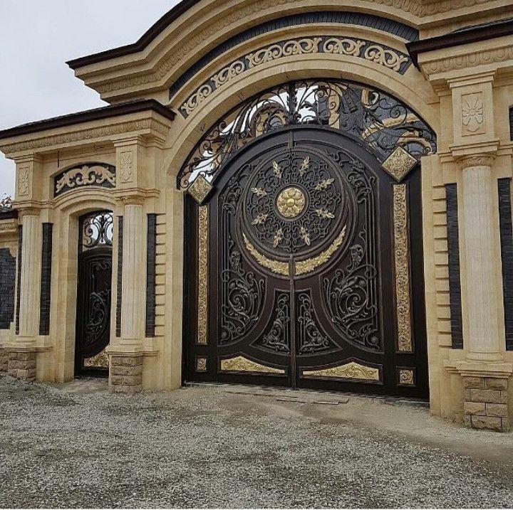 отдыха фото самые красивые ворота для дома чечни являются более точными