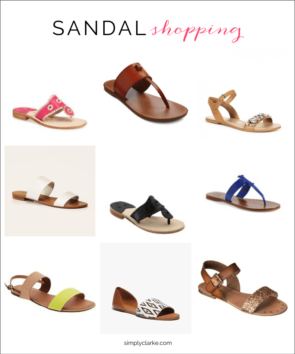 ef8eeea1481fbf Sandal Shopping  summersandals  sandals