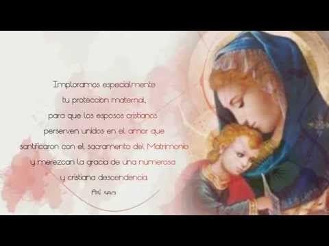 Santa María, Madre del Amor Hermoso - YouTube