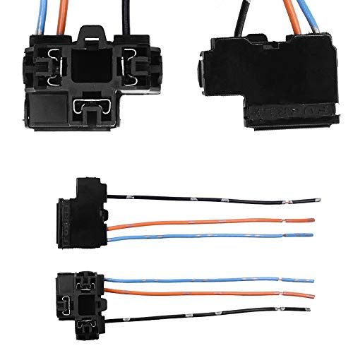 HUIQIAODS H4 HB2 9003 Headlight Wiring Harness Pigtail Plug ... on heavy duty headlight harness, headlight connectors, headlight relay harness, headlight bracket, bucket truck harness,