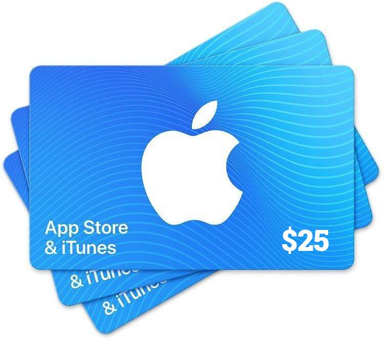 Get 25 itunes giftcard codes free free itunes gift