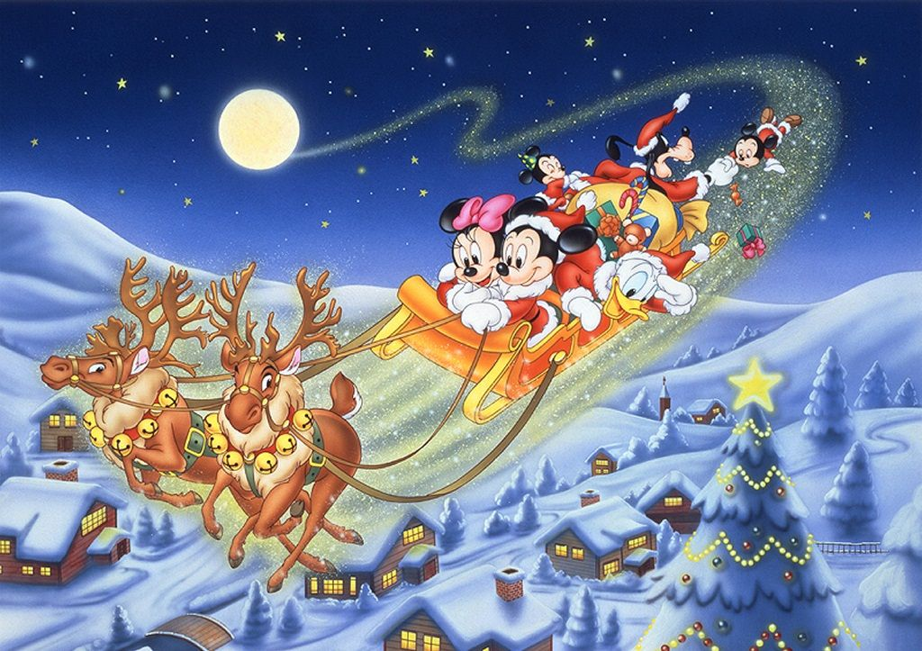 Disney-Christmas-Wallpapers-Mickey-Mouse-And-Friends.jpg (1024×723 ...