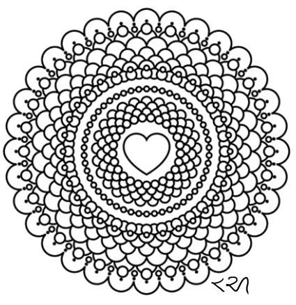 Intricate Mandala Coloring Pages, flower, henna, coloring ...