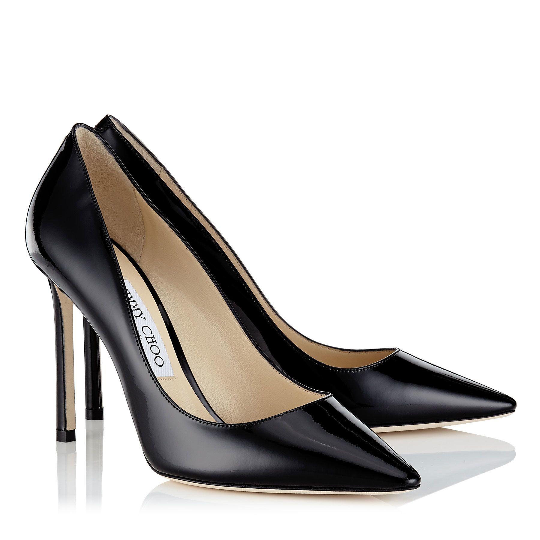 Jimmy choo shoes black, Stiletto heels