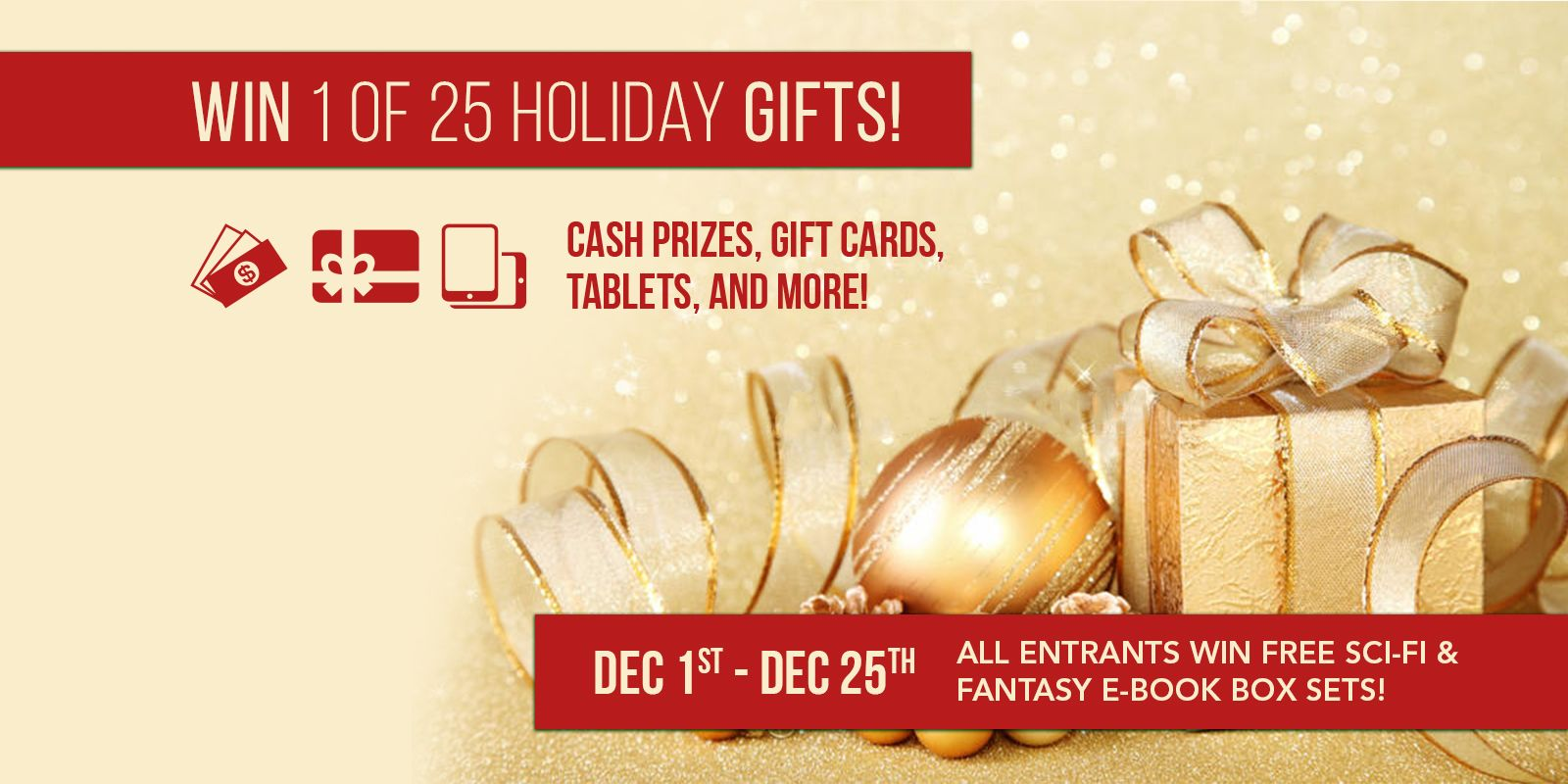 Win 1 of 25 holiday gifts cash prizes gift cards ku