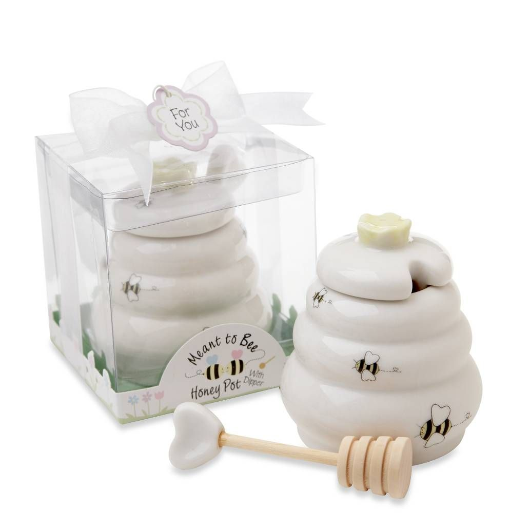 product image for Kate Aspen® Meant to Be Honey Pot with Dipper ...
