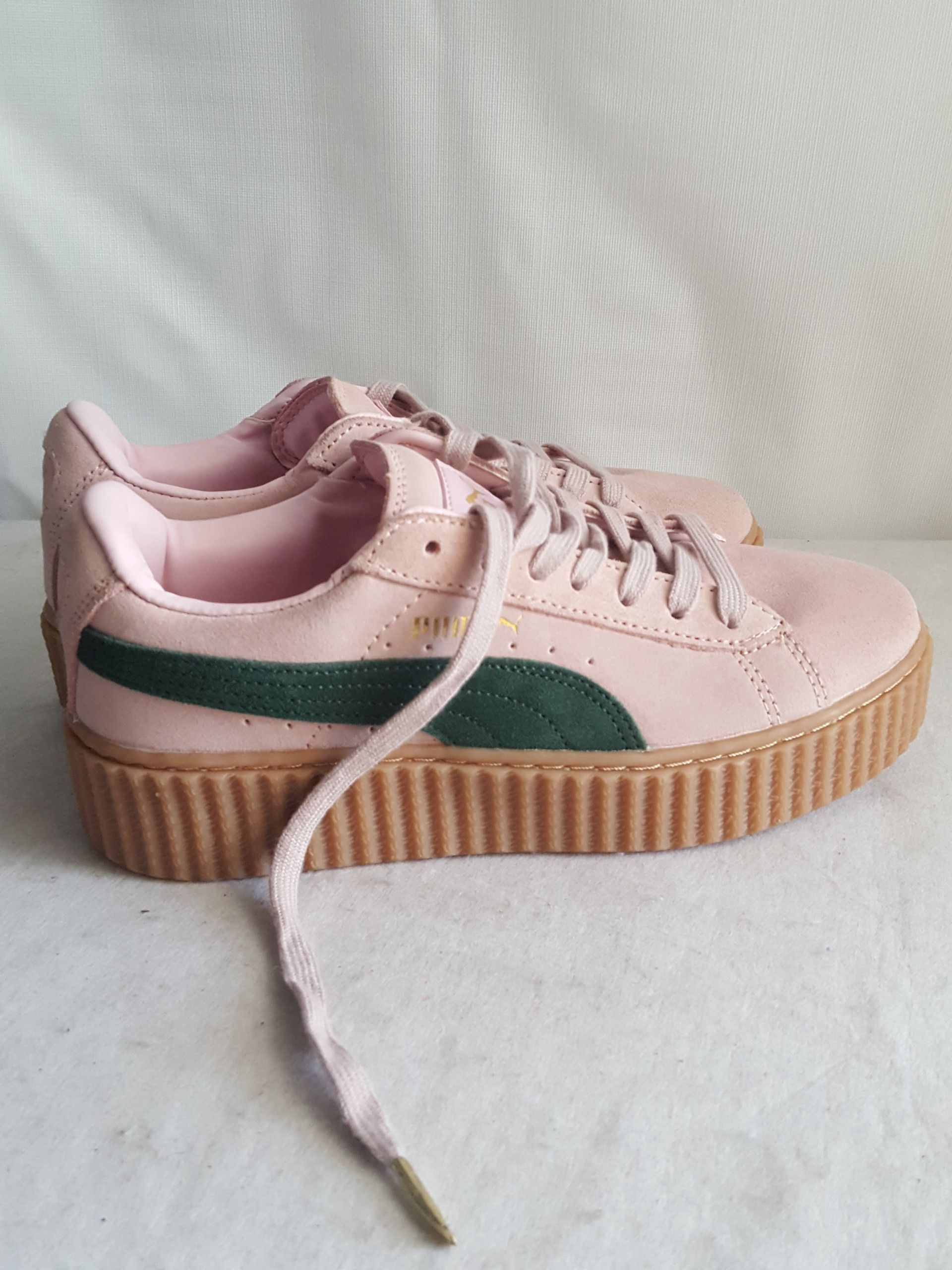 pink and green pumas - 64% OFF