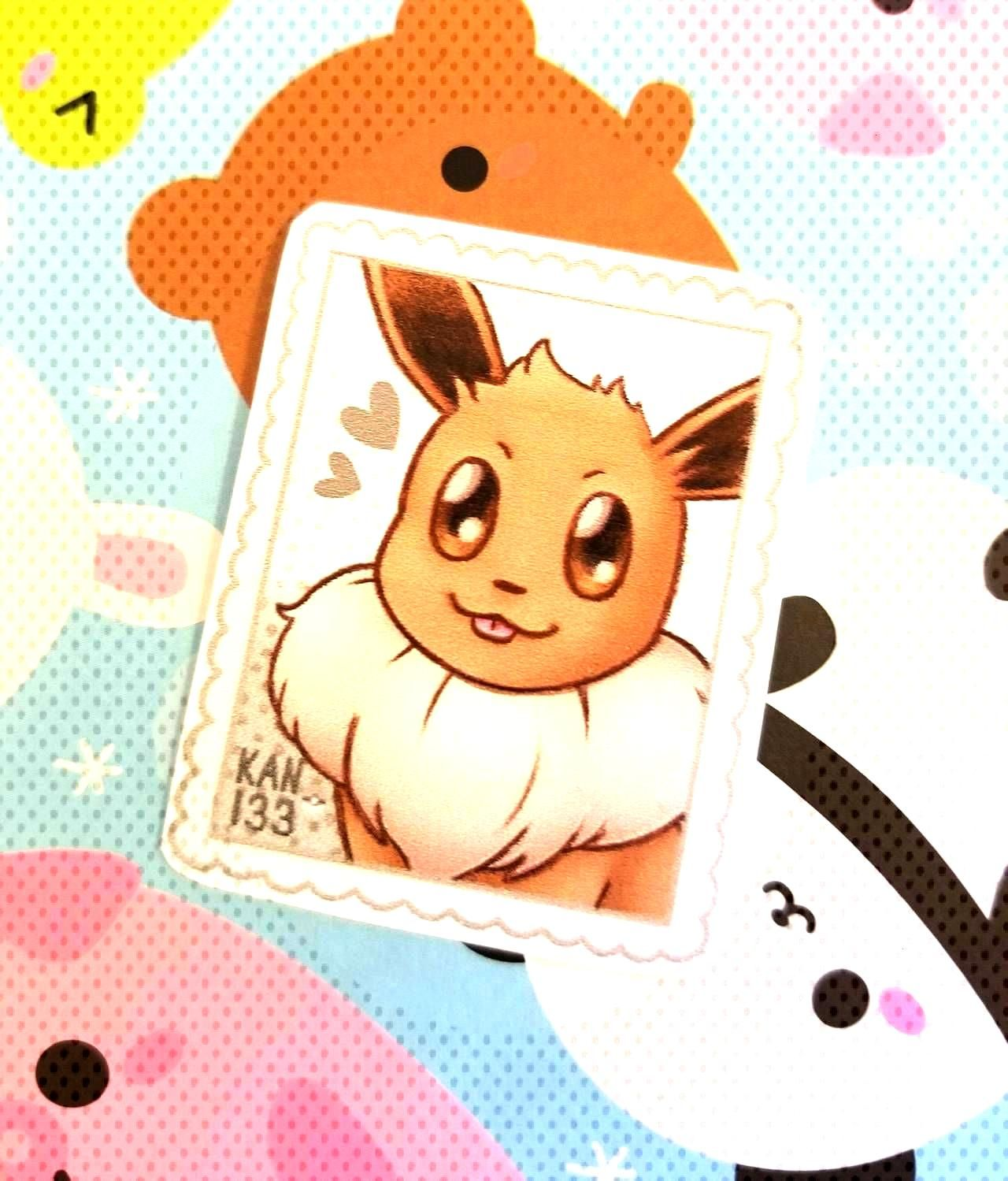 Pokemon Stamp Stickers made by NolsephsArtnThings -