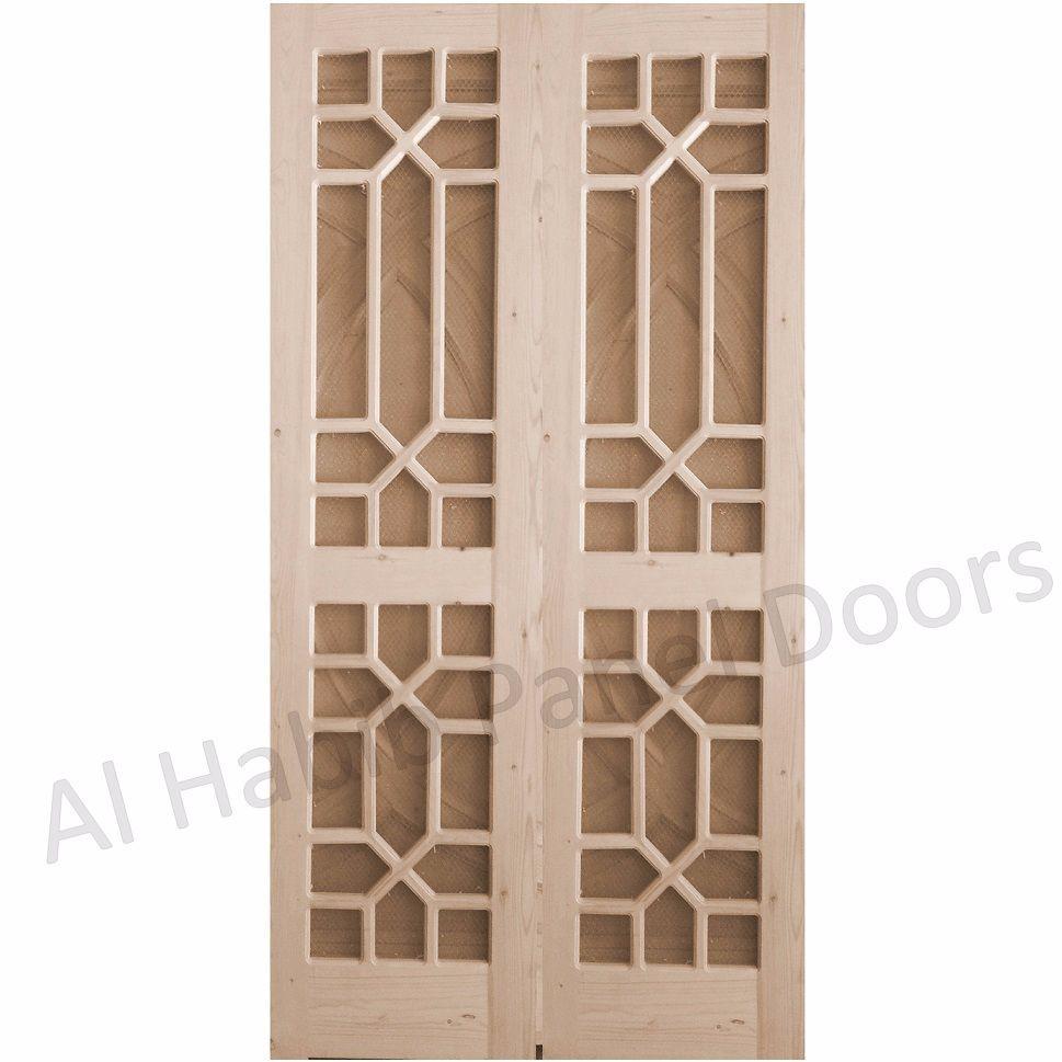Kail Wood Wire Mesh Door Hpd523 Mesh Panel Doors Al Habib Panel