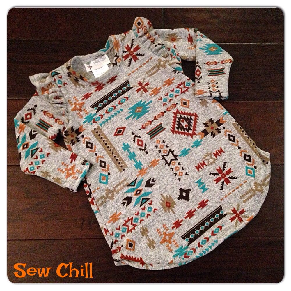 """Sew Chill """"katie"""" flutter tunic tops - just a few left!  http://www.sewchill.com/collections/all"""