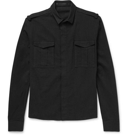 HAIDER ACKERMANN Slim-Fit Cotton Shirt. #haiderackermann #cloth #casual shirts