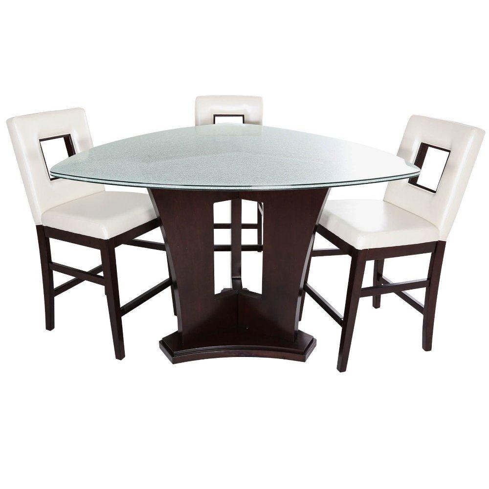 Espresso 4 Piece Counter Height Dining Set Soho Counter Height