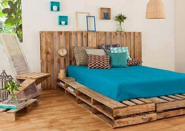 camas de palets - Buscar con Google Decoración y muebles - camas con tarimas