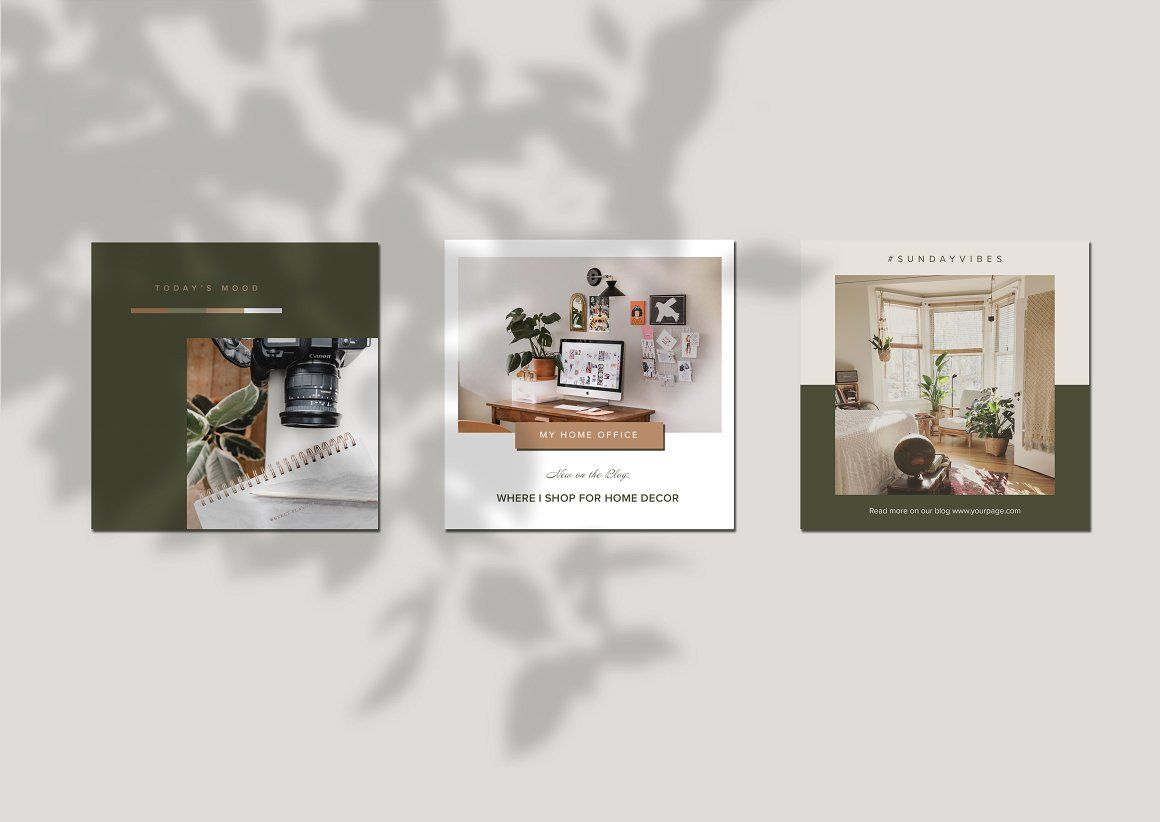 Interior Design Instagram Templates With Images Instagram Template