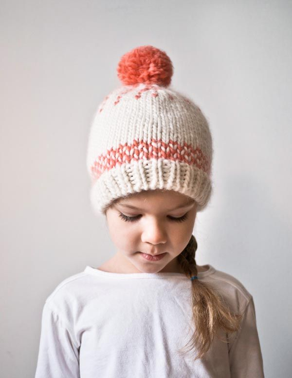 Friendly Fair Isle Hat Purl Soho Knitted Mittens