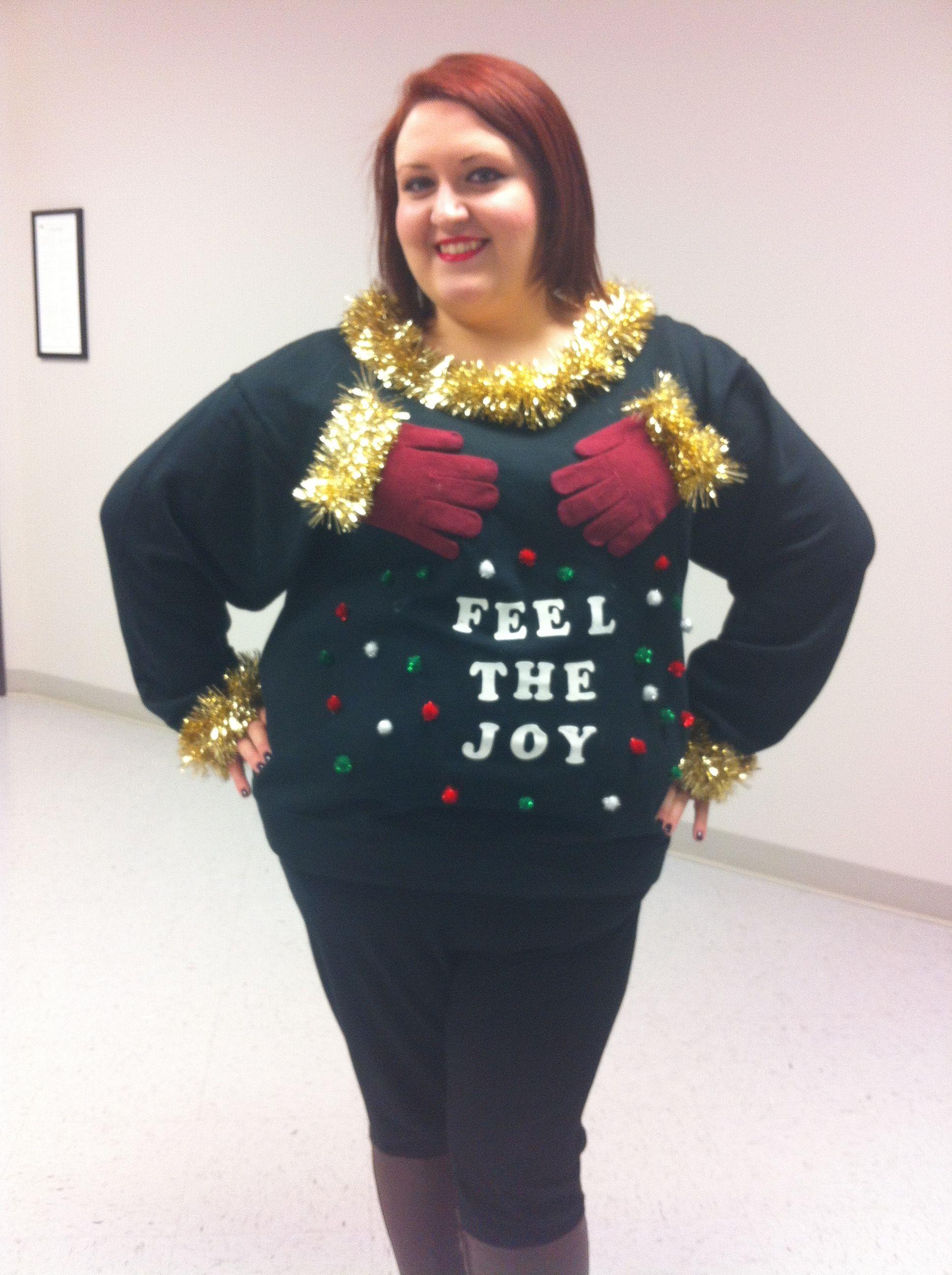 feel the joy tacky christmas sweater - Feel The Joy Christmas Sweater