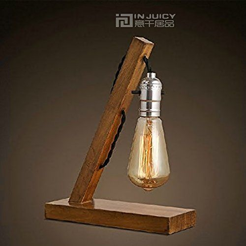 Injuicy Lighting Vintage Retro Industrial Edison Bulb E27 Led Table