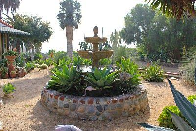 Mexican garden paradise in Laguna Beach
