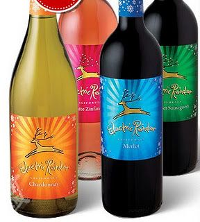 Electric Reindeer - favorite holiday wine.