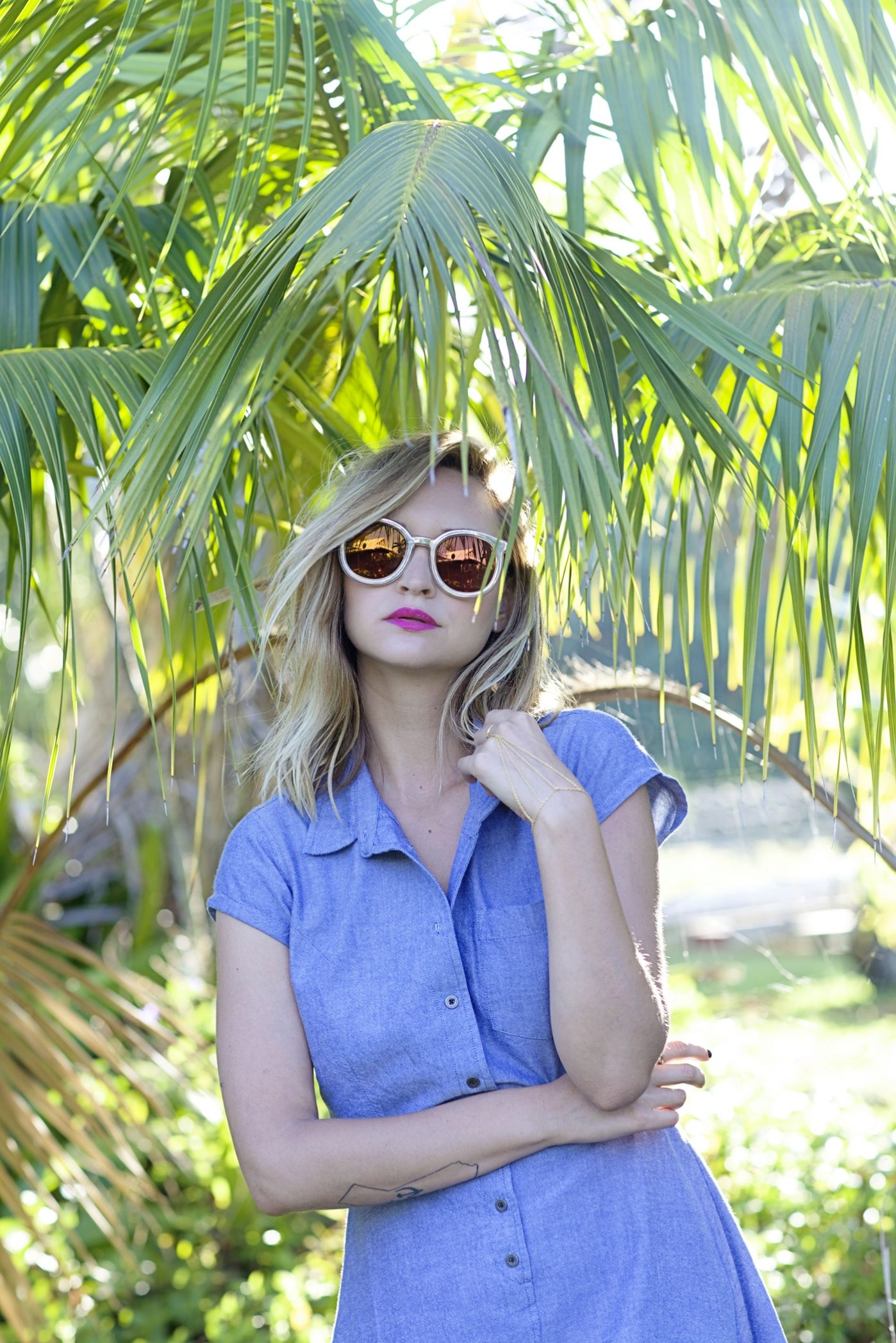 chambray in the tropics » Late Afternoon Blog