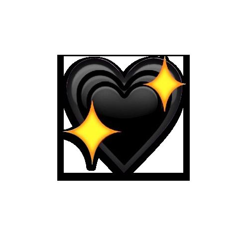 Sailorghetto Tumblr Black Heart Emoji Heart Emoji Emoji Images