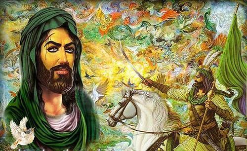 باب الحوائج ابو الفضل العباس Imam Ali Quotes Photo Painting