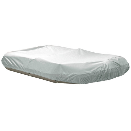 """Dallas Manufacturing Co. Polyester Inflatable Boat Cover D - Fits Up to 12'6"""""""", Beam to 74"""""""""""