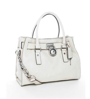 Special Price 75 00 Michael Kors Handbags Hamilton Satchel Vanilla