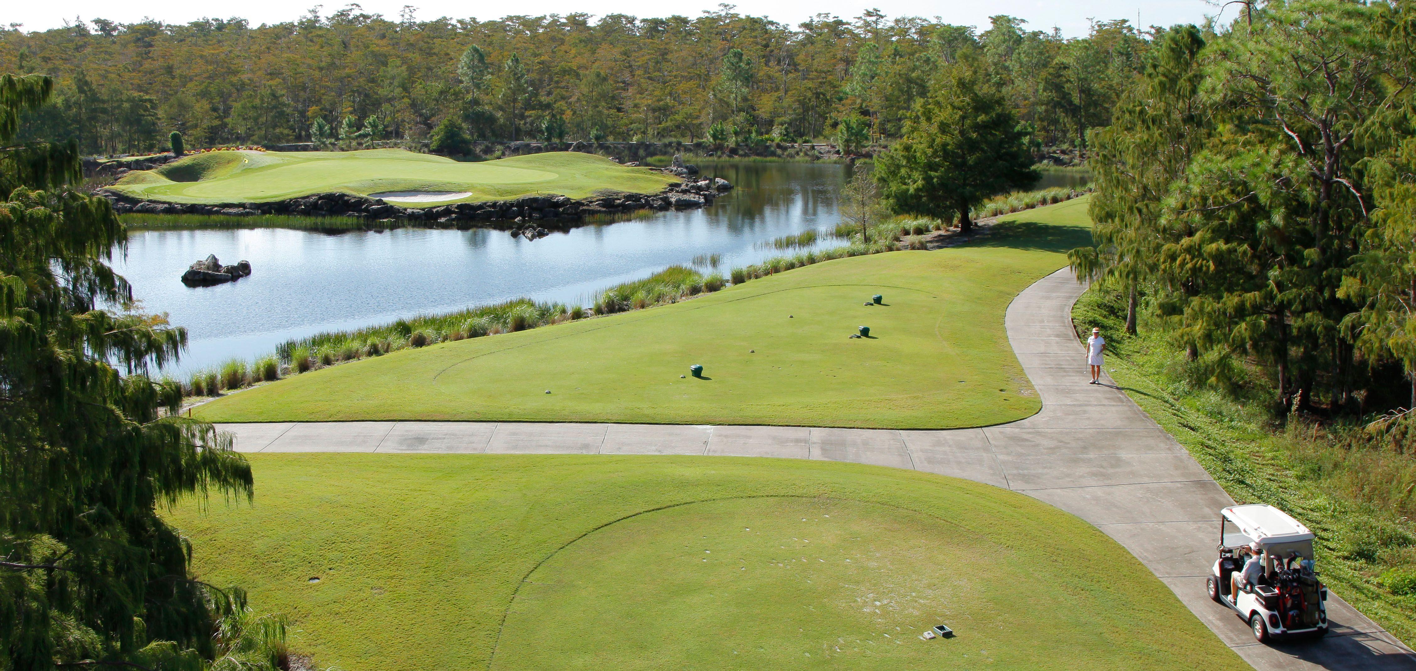 Par 72 Golf Course Designed By P B Dye In Naples Florida Golf Courses Gulf Coast Beaches Cypress