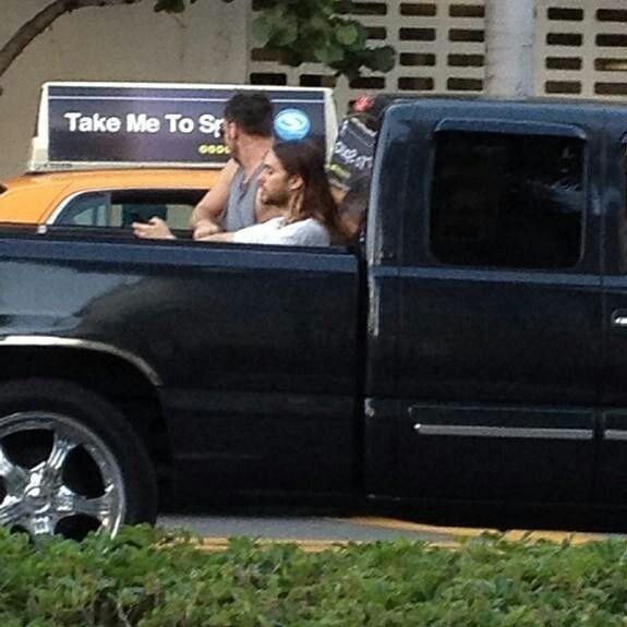 Hitchin a ride in Miami