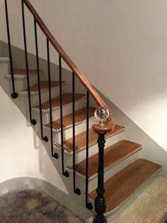 r sultat de recherche d 39 images pour peinture cage d 39 escalier d co pinterest escaliers. Black Bedroom Furniture Sets. Home Design Ideas