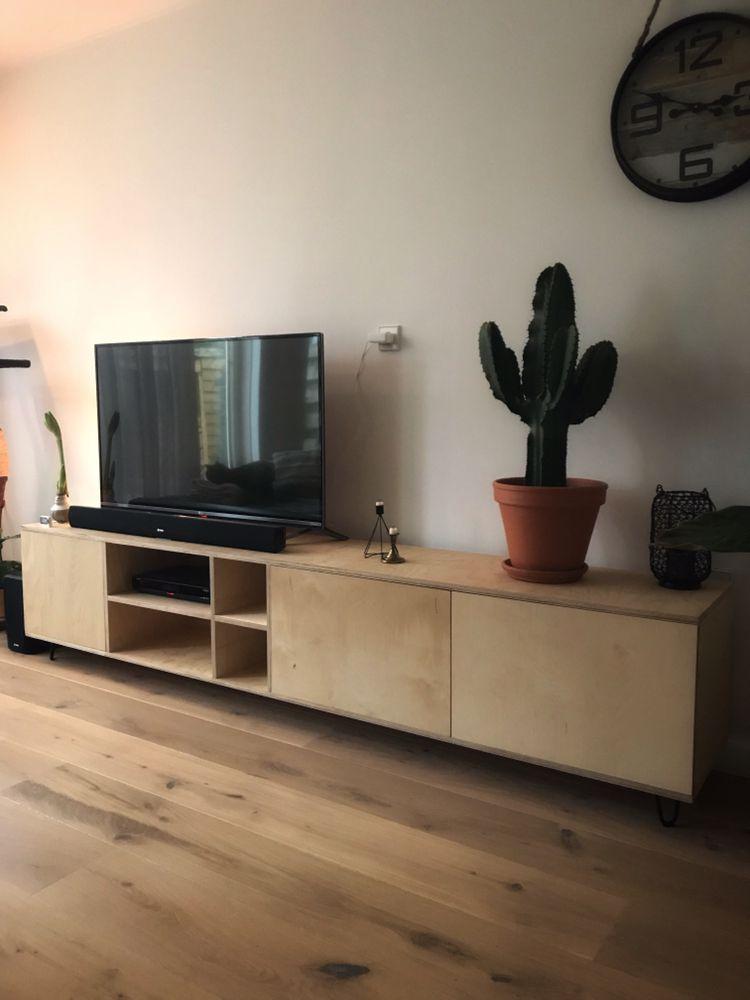 Gave Tv Meubel.Multiplex Tv Meubel Diy Projecten Living Room En Electronics
