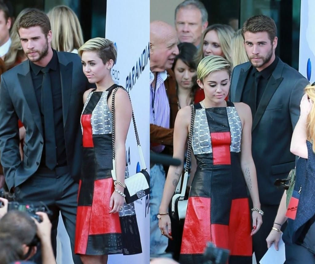 mileyy and her ex bo