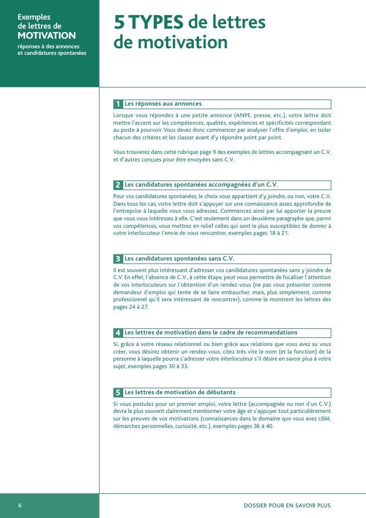 Exemples De Lettres De Motivation Exemple De Lettre Lettre De Motivation Emploi Lettre De Motivation