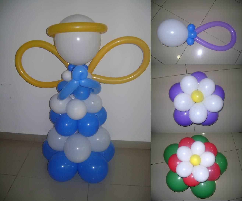 Decoracion con globos para fiestas infantiles sencillas for Manualidades decoracion infantil