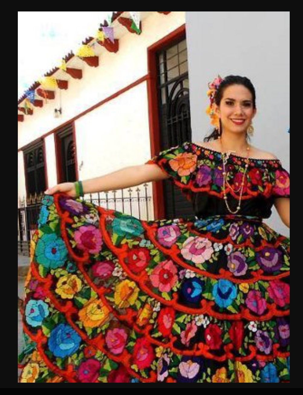 Pin De Cyndi Rodriguez En Mexican Folklorico Costumes