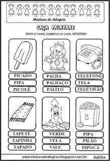 Caca Palavras Caca Palavras Palavras Diferentes Bingo De Palavras