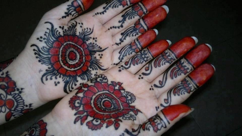 Mehndi Bunch On Arm : Bridal henna designs for hands and feet mehndi design