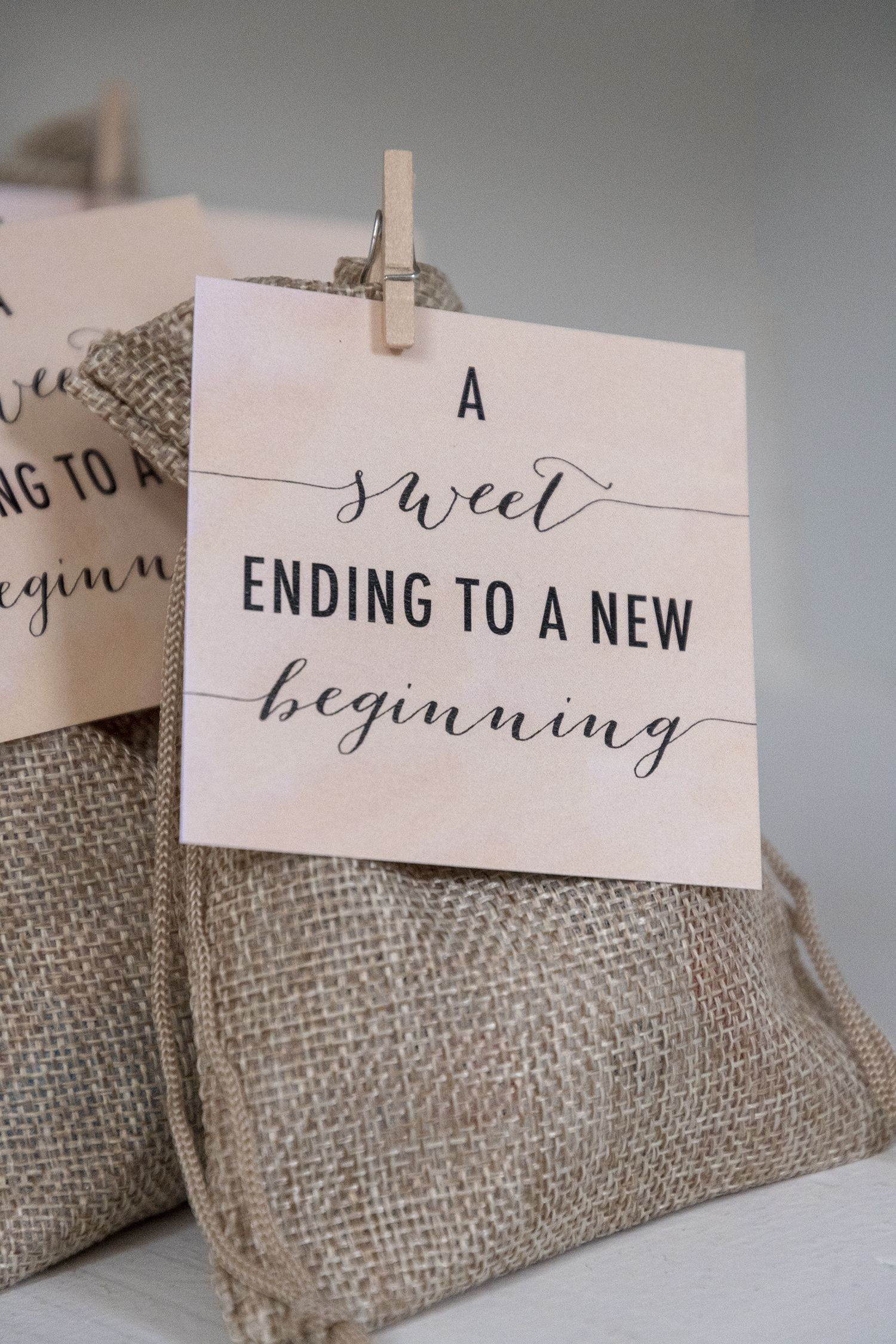 Free Printable Wedding Candy Favor Tags