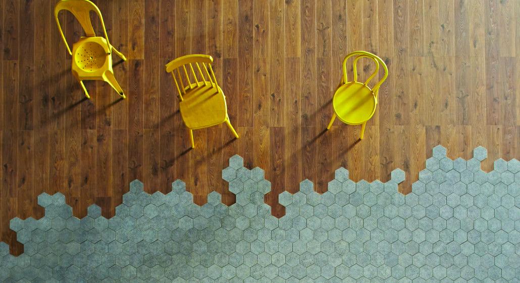 les motifs carreaux de ciment font leur grand retour. Black Bedroom Furniture Sets. Home Design Ideas