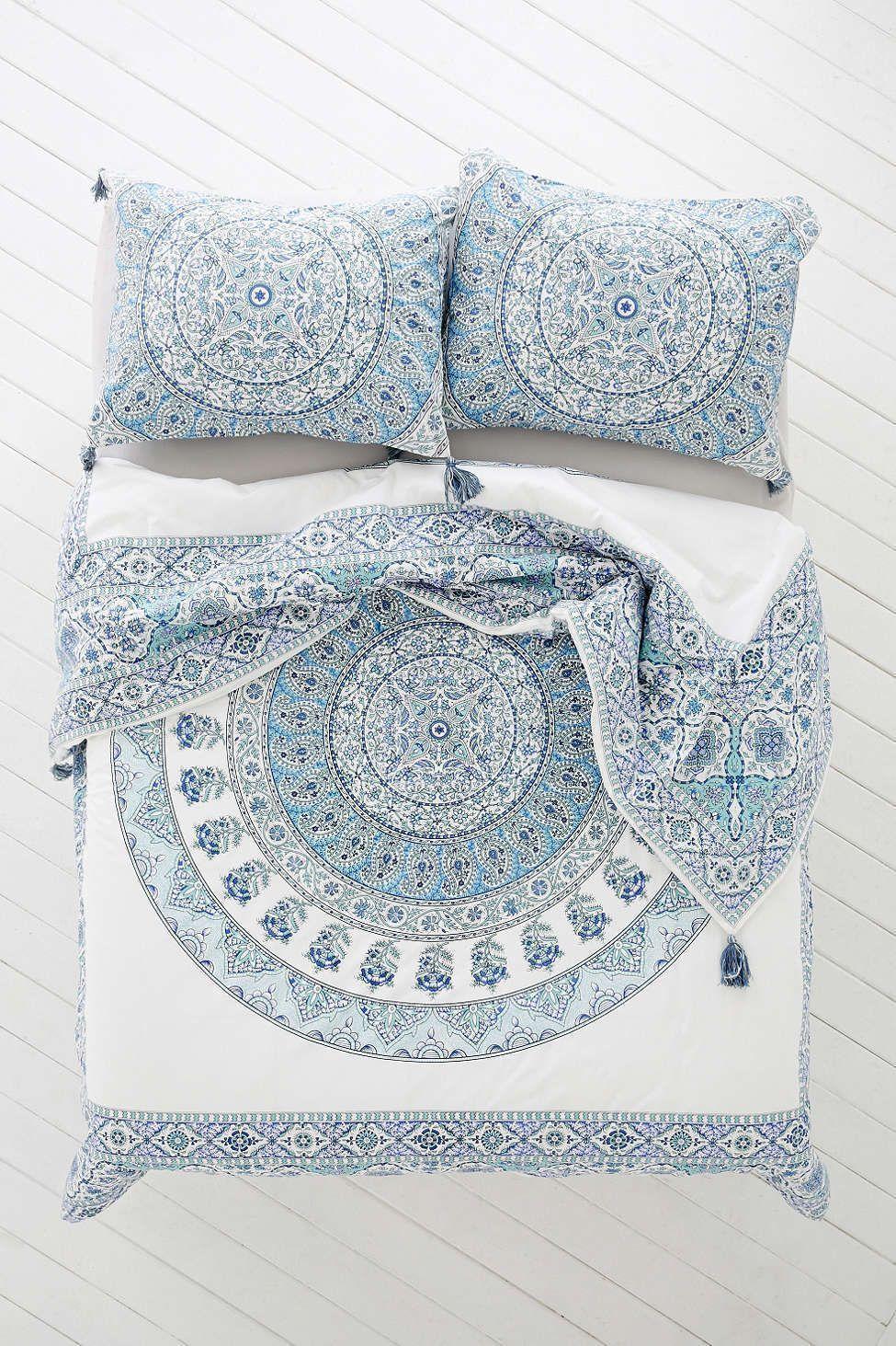 thread bath bed medallion wayfair cotton row mercury apollo cover reviews duvet pdx set count reversible